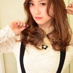 コンサバ フェミニン モテ髪 秋 ヘアスタイルや髪型の写真・画像