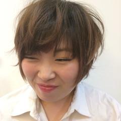 外国人風カラー 大人女子 かっこいい ショート ヘアスタイルや髪型の写真・画像