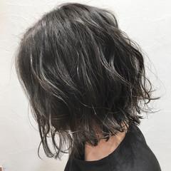 モテ髪 ストリート 艶髪 ハイライト ヘアスタイルや髪型の写真・画像