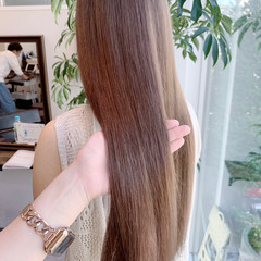 大人かわいい ナチュラル ロングヘア ロング ヘアスタイルや髪型の写真・画像