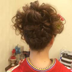 まとめ髪 ヘアアレンジ 成人式 結婚式 ヘアスタイルや髪型の写真・画像