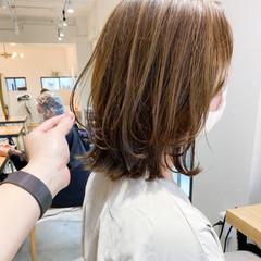 アウトドア ナチュラル ミディアム 簡単ヘアアレンジ ヘアスタイルや髪型の写真・画像