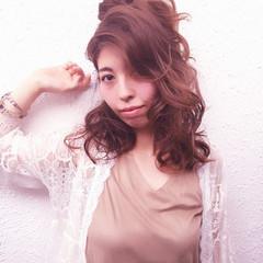 簡単ヘアアレンジ アッシュ 大人女子 大人かわいい ヘアスタイルや髪型の写真・画像