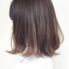 外国人風 ストリート ミディアム ハイライト ヘアスタイルや髪型の写真・画像