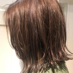 ストリート 透明感 グレージュ ボブ ヘアスタイルや髪型の写真・画像