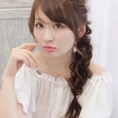 結婚式 大人かわいい 大人女子 ロング ヘアスタイルや髪型の写真・画像
