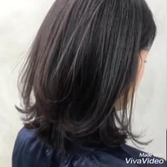 ナチュラル 鎖骨ミディアム デート アンニュイほつれヘア ヘアスタイルや髪型の写真・画像