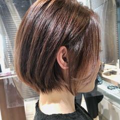 ショートヘア ショート ショートボブ 切りっぱなしボブ ヘアスタイルや髪型の写真・画像