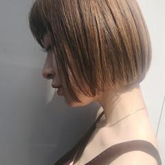 デート スポーツ ボブ ショート ヘアスタイルや髪型の写真・画像