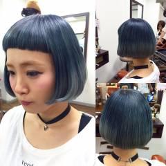 ガーリー 丸顔 大人かわいい グラデーションカラー ヘアスタイルや髪型の写真・画像
