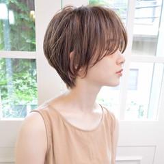 ショートボブ ショート ゆるふわ 大人女子 ヘアスタイルや髪型の写真・画像