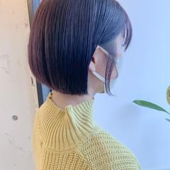 小顔ショート ハンサムショート 韓国ヘア ショートヘア ヘアスタイルや髪型の写真・画像