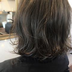 グレージュ 外国人風カラー ストリート アッシュ ヘアスタイルや髪型の写真・画像