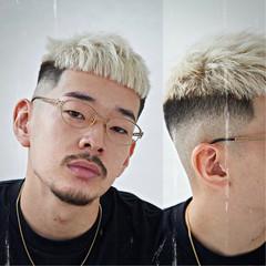 メンズヘア 刈り上げ ナチュラル ショート ヘアスタイルや髪型の写真・画像