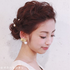 ロング 大人かわいい 外国人風 パーティ ヘアスタイルや髪型の写真・画像