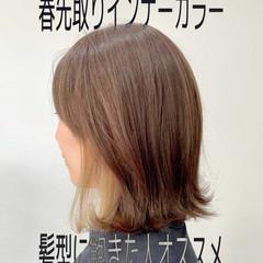 ミニボブ 切りっぱなしボブ ショートボブ 大人女子 ヘアスタイルや髪型の写真・画像