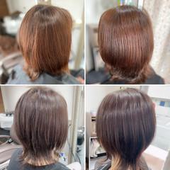 ミディアムレイヤー ネオウルフ レイヤーカット ウルフカット ヘアスタイルや髪型の写真・画像