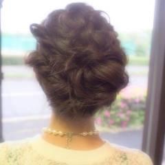 モテ髪 コンサバ ショート 編み込み ヘアスタイルや髪型の写真・画像