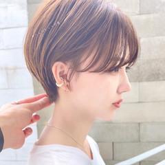 ショートカット ショート 髪質改善 ハンサムショート ヘアスタイルや髪型の写真・画像