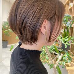 小顔ショート ショートボブ ショートヘア 大人ショート ヘアスタイルや髪型の写真・画像
