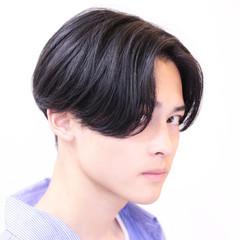メンズショート メンズカット メンズヘア ミディアム ヘアスタイルや髪型の写真・画像
