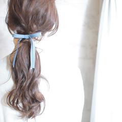 ロング パーティ グラデーションカラー ショート ヘアスタイルや髪型の写真・画像