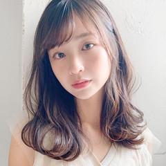 フェミニン アンニュイほつれヘア デジタルパーマ 大人かわいい ヘアスタイルや髪型の写真・画像