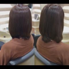 髪質改善トリートメント ナチュラル 髪質改善 艶髪 ヘアスタイルや髪型の写真・画像