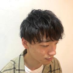 メンズマッシュ ストリート ショート ツーブロック ヘアスタイルや髪型の写真・画像