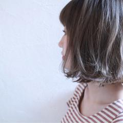 ガーリー グレージュ 外国人風 透明感 ヘアスタイルや髪型の写真・画像