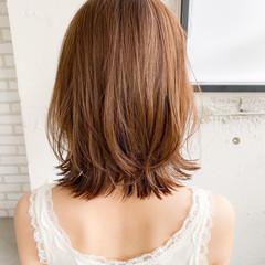 アンニュイほつれヘア ナチュラル ボブ アウトドア ヘアスタイルや髪型の写真・画像