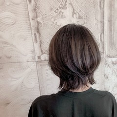 ウルフ女子 ネオウルフ ナチュラルウルフ 小顔ヘア ヘアスタイルや髪型の写真・画像