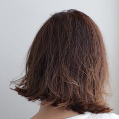 ボブ 切りっぱなしボブ 外はね ミニボブ ヘアスタイルや髪型の写真・画像