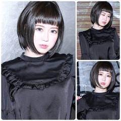黒髪 カーキ 色気 暗髪 ヘアスタイルや髪型の写真・画像