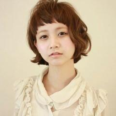 アッシュ 大人かわいい ショートボブ ガーリー ヘアスタイルや髪型の写真・画像