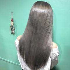 モード 外国人風 ハイトーン ハイライト ヘアスタイルや髪型の写真・画像