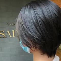 ショートボブ 丸みショート フェミニン ショート ヘアスタイルや髪型の写真・画像