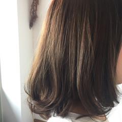 外国人風 暗髪 ミディアム ストリート ヘアスタイルや髪型の写真・画像