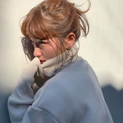 ヘアアレンジ フェミニン デート 簡単ヘアアレンジ ヘアスタイルや髪型の写真・画像