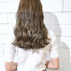 ウェーブ デート ヘアアレンジ オフィス ヘアスタイルや髪型の写真・画像