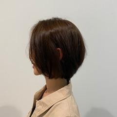 絶壁カバー 抜け感 美シルエット フェミニン ヘアスタイルや髪型の写真・画像