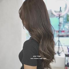 ハイライト ナチュラル 3Dハイライト ロング ヘアスタイルや髪型の写真・画像