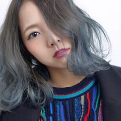 外国人風 アッシュ 渋谷系 ストリート ヘアスタイルや髪型の写真・画像