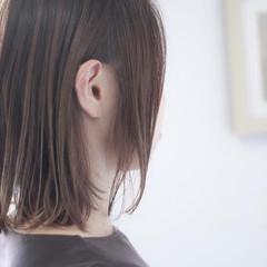 ナチュラル ヌーディベージュ アッシュベージュ ミディアム ヘアスタイルや髪型の写真・画像
