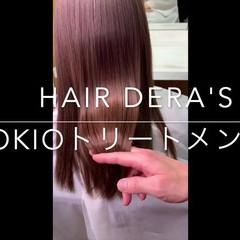 ロング 大人かわいい TOKIOトリートメント イルミナカラー ヘアスタイルや髪型の写真・画像
