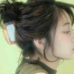 大人かわいい 簡単ヘアアレンジ ショート ヘアアレンジ ヘアスタイルや髪型の写真・画像