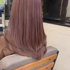 外国人風 バレイヤージュ ハイライト ロング ヘアスタイルや髪型の写真・画像