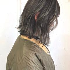アンニュイ ボブ 外国人風カラー ストリート ヘアスタイルや髪型の写真・画像