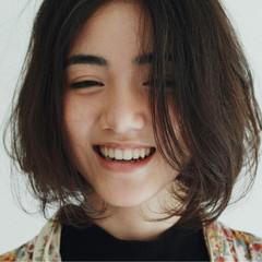 ガーリー ナチュラル ラフ パーマ ヘアスタイルや髪型の写真・画像