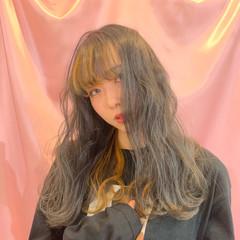 簡単ヘアアレンジ デート アンニュイほつれヘア ストリート ヘアスタイルや髪型の写真・画像